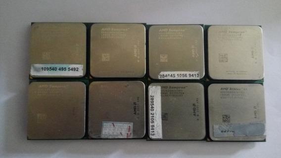 Lote 8 Processadores Sempron Usados