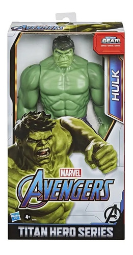 Boneco Avengers Titan Hero Blast Gear Hulk Original Hasbro