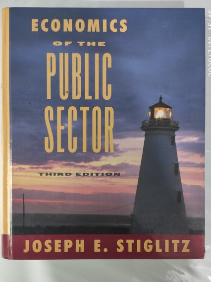 Livro Book Economics Of The Public Sector Third Edition