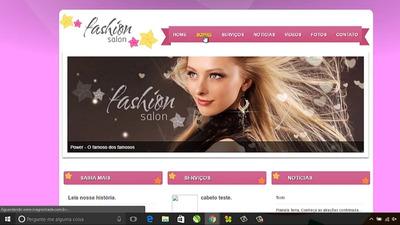 Site Script Php Sistema De Salão De Beleza Hair