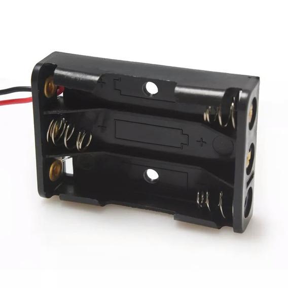 (lote Com 4) Box , Suporte, Case Para 3 X 18650