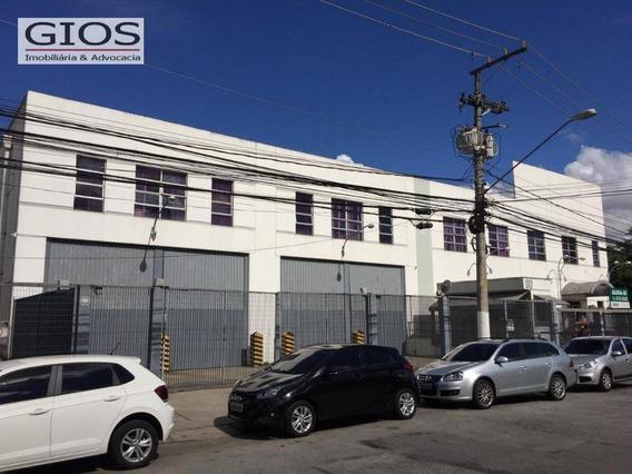 Galpão Para Alugar, 3016 M² Por R$ 75.000,00/mês - Vila Anastácio - São Paulo/sp - Ga0215