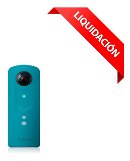 Camara Fotográfica Ricoh 360 Video Y Foto Theta Sc Azul Blue