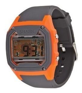 Relógio Freestyle Killer Shark Skeleton - Cinza/laranja