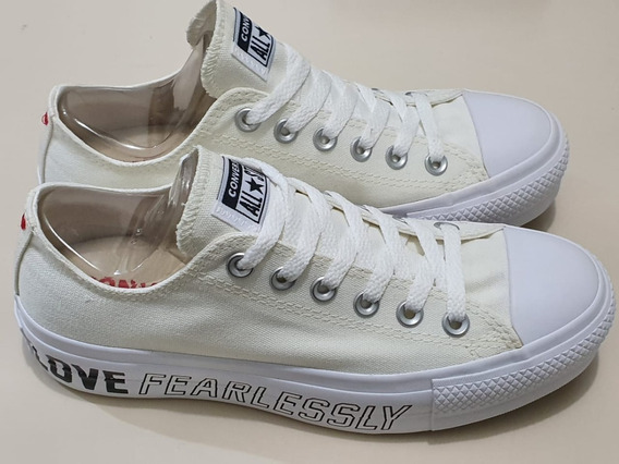 Tênis Converse Chuck Taylor All Star Love Fearlessly Lift