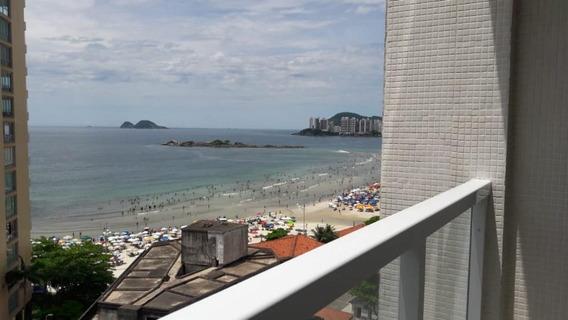 Apartamento Em Centro, Guarujá/sp De 108m² 3 Quartos Para Locação R$ 3.100,00/mes - Ap313576