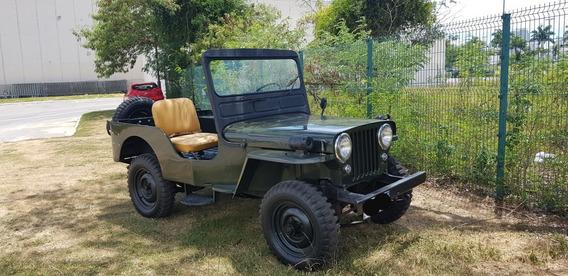 Jeep Willys Cj3a Cj3a