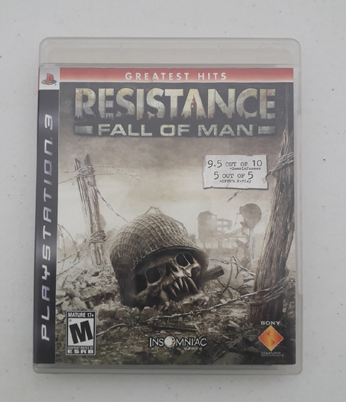 Jogo Resistance Fall Of Man - Ps3 - Original - Mídia Física