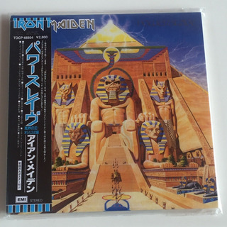 Iron Maiden - Powerslave - Cd Mini Lp Edición Japonesa