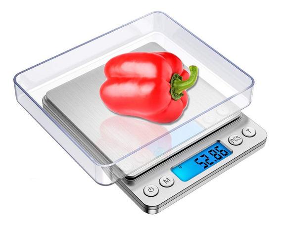 Báscula Digital Hyiear De Cocina Pequeña Con Pantalla Lcd