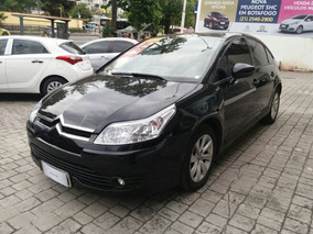 Citroen C4 2.0 Exclusive Bva Sport 16v Flex 2012 Preto