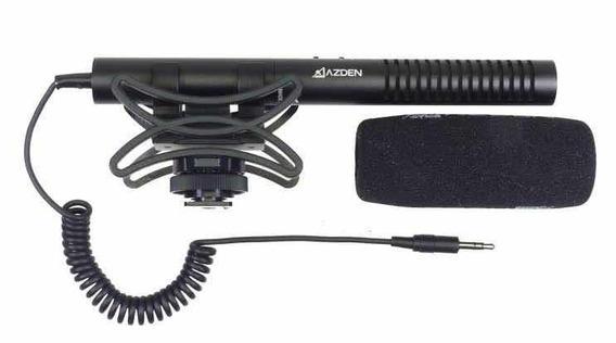 Microfone Direcional Estéreo Azden Smx-10 Novo Com Nfe