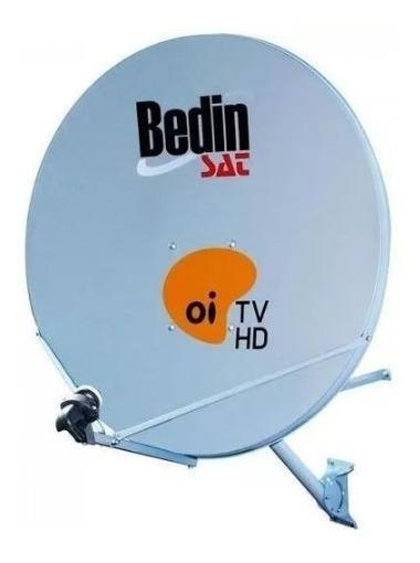Antena Parabólica Bedin Sat Banda Ku Chapa 75cm Original Oi Tv