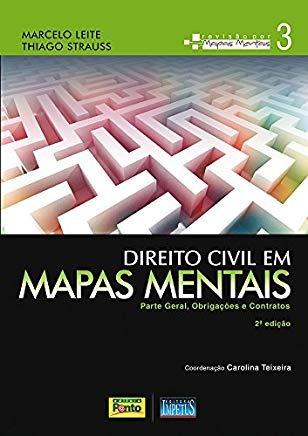 Direito Civil Em Mapas Mentais Vol 3 Marcelo Leite