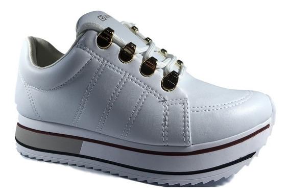 Tênis Ramarim Feminino Branco Sneaker Tratorado 1971101