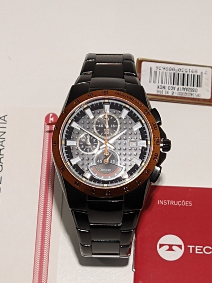 Relógio Technos Chronograph 10atm Os62aa/1p