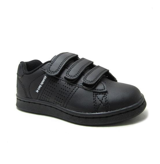 Zapatillas Con Velcro Le Coq Sportif Sculi Strap Colegial