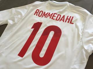 Estampado Numero Camiseta Dinamarca 2012 - 2 Digitos+ Nombre