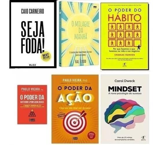 (combo) 6 Livros - O Poder Do Hábito, O Poder Da Ação