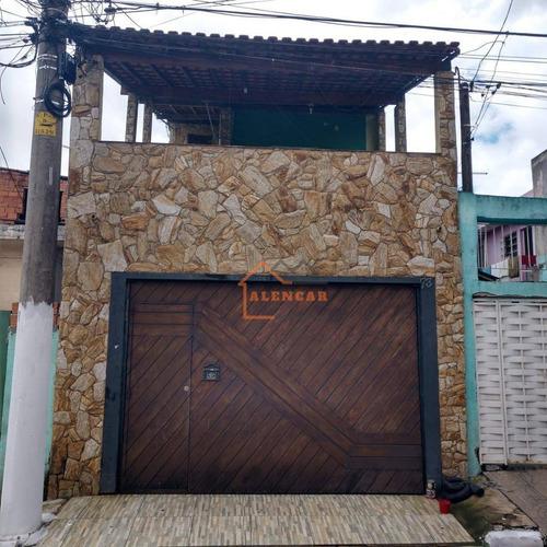 Casa À Venda, 90 M² Por R$ 350.000,00 - Conjunto Residencial José Bonifácio - São Paulo/sp - Ca0077