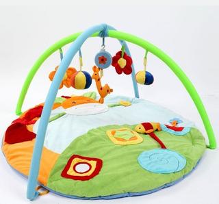 Tapete Infantil Centro De Atividades Com Brinquedos