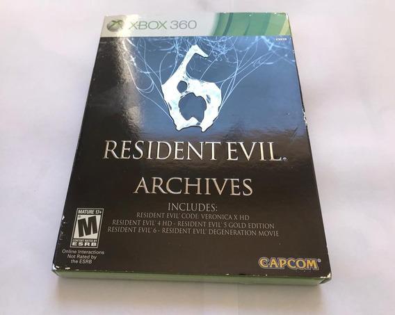 Resident Evil 6 Archives Midia Fisica Lacrado - Xbox 360