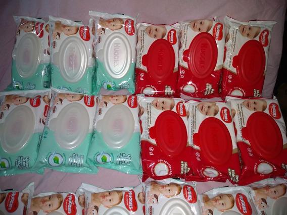 Lenço Huggies Umedecidos Turma Da Mônica 8 Pacotes C/48