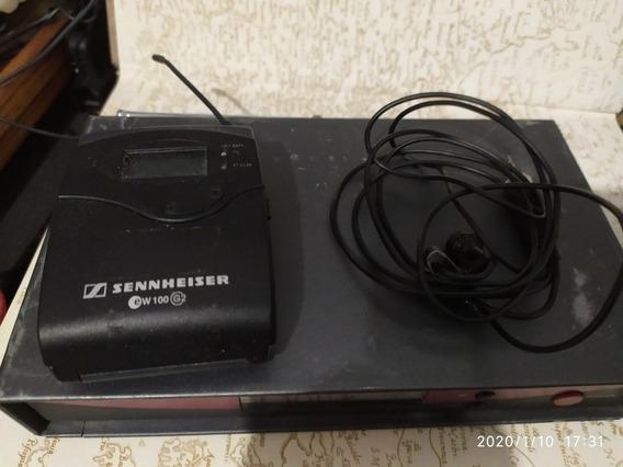 Microfone Sennheiser Modelo Ew100g2 Lapela Sem Fio