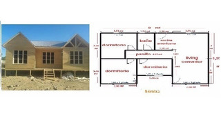 Casas Prefabricadas 54 M2.