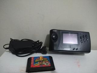 Consola Portátil Sega Nomas Original Funcionando C/ Cargador