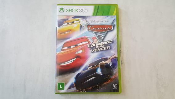 Carros 3 Correndo Para Vencer - Xbox 360 - Original - Física
