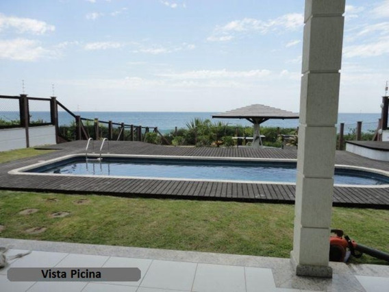 Maravilhosa Casa Com Piscina Frente Mar No Estaleirinho Balneário Camboriú! - A503 - 31906068