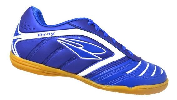 Chuteira Futsal Adulto Dray - Azul