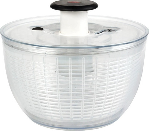 Imagem 1 de 1 de Lava E Seca Saladas Transparente 5 Litros Oxo + Nf