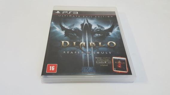 Diablo 3 Reaper Of Souls - Ps3 - Original