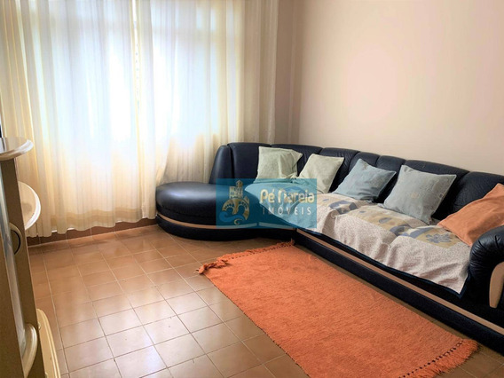Apartamento Com 2 Dormitórios Para Alugar, 70 M² Por R$ 1.600/mês - R2f34a - Canto Do Forte - Praia Grande/sp - Ap0423