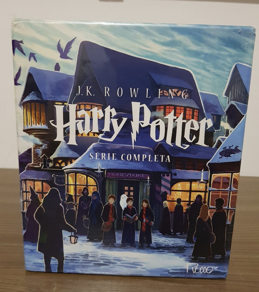 Box - Harry Potter - Série Completa (7 Volumes) Novo Lacrado