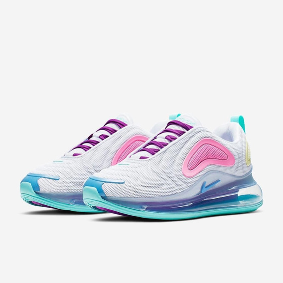 Nike Air Max 720 White Light Aqua Dama