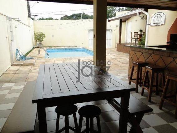 Maravilhosa Casa Residencial À Venda, Jardim Santa Marcelina, Campinas. - Ca4289