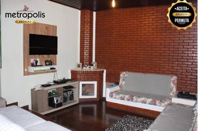 Sobrado Residencial À Venda, Mauá, São Caetano Do Sul. - So0250