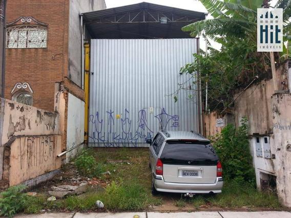 Galpão À Venda, 400 M² Por R$ 1.250.000,00 - Ipiranga - São Paulo/sp - Ga0052