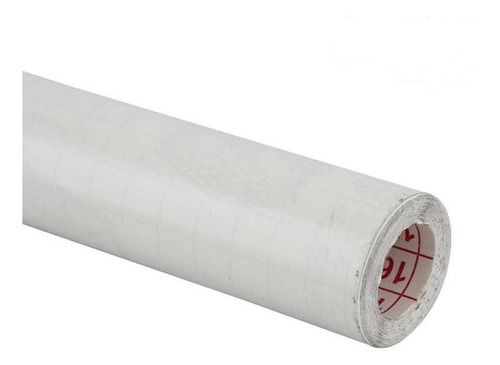 Rollo Papel Contac 20 Mts Adhesivo Blanco