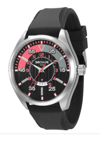Relógio Masculino Analógico Seculus 20282g0sgnu1