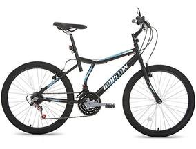 Bicicleta Houston Atlantis Land At241q Aro 24 21 Marchas