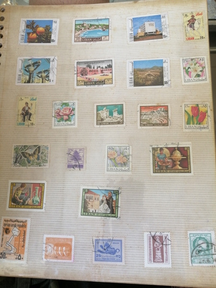 Sellos Postales Antiguos