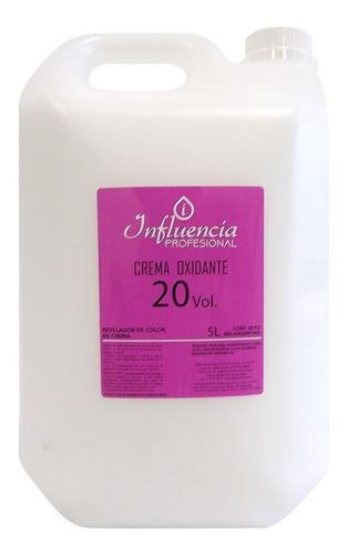 Crema Oxidante 20 Vol X 5 Litros Influencia Coalix