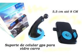 Suporte 360º Carro Vidro Frente Carro Celular Smartphone Gps