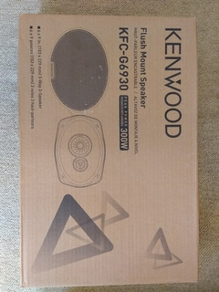 Cornetas Triaxiales Kenwood 6x9