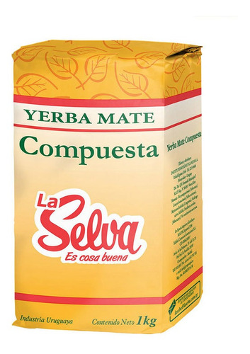 Yerba La Selva Compuesta 1kg