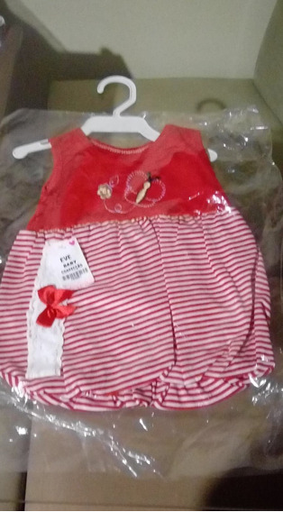 Vestido De Bebê Menina Kit Com 3 Vestidos